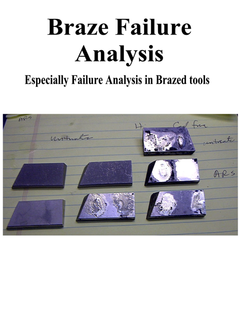 Braze Failure Analysis Book Cover