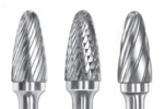 Solid Carbide Tree Shape Burs With Radius Cut